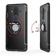 preiswerte Handyhüllen-Hülle Für Huawei Mate 10 pro / Mate 10 Lite Ring - Haltevorrichtung Rückseite Solide Hart PC für Mate 10 / Mate 10 pro / Mate 10 lite