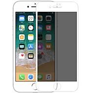 Недорогие Защитные плёнки для экрана iPhone-Защитная плёнка для экрана для Apple iPhone 7 Закаленное стекло 1 ед. Защитная пленка на всё устройство 3D закругленные углы / Anti-Spy /