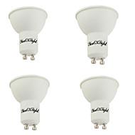 お買い得  LED スポットライト-YouOKLight 4本 400lm GU10 LEDスポットライト MR16 10 LEDビーズ SMD 5730 装飾用 温白色 85-265V