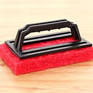 abordables Escobillas y cepillos de mano-Cocina Limpiando suministros Plásticos / Esponja de microfibra Cepillo y Trapo de Limpieza Simple 1pc