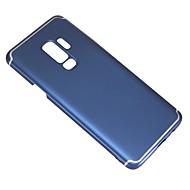 Недорогие Чехлы и кейсы для Galaxy S9 Plus-Кейс для Назначение SSamsung Galaxy S9 Plus Ультратонкий / Матовое Кейс на заднюю панель Однотонный Твердый ПК для S9 Plus