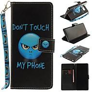 Недорогие Чехлы и кейсы для Galaxy Note 8-Кейс для Назначение SSamsung Galaxy Note 8 Кошелек / Бумажник для карт / со стендом Чехол Слова / выражения Твердый Кожа PU для Note 8