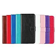 abordables Galaxy S5 Mini Carcasas / Fundas-Funda Para Samsung Galaxy S9 Plus / S9 Cartera / Soporte de Coche / Flip Funda de Cuerpo Entero Un Color Dura Cuero de PU para S9 / S9 Plus / S8 Plus