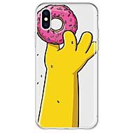 Hülle Für Apple iPhone X / iPhone 8 Plus Muster Rückseite Cartoon Design Weich TPU für iPhone X / iPhone 8 Plus / iPhone 8