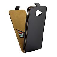 Недорогие Чехлы и кейсы для Galaxy J-Кейс для Назначение SSamsung Galaxy J7 Max Бумажник для карт / Флип Чехол Однотонный Твердый Кожа PU для J7 Max