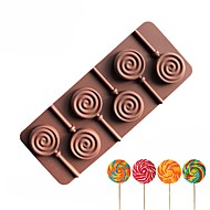 cheap -Bakeware tools Silicone Creative / DIY For Chocolate / For Ice / For Candy Cake Molds / Cookie Cutters 1pc