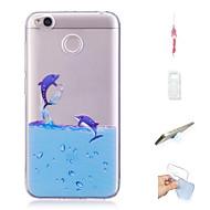preiswerte Handyhüllen-Hülle Für Xiaomi Redmi 4X Muster Rückseite Tier Weich TPU für Xiaomi Redmi 4X