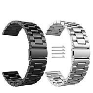 Недорогие Аксессуары для смарт-часов-Ремешок для часов для Fitbit Versa Fitbit Миланский ремешок Нержавеющая сталь Повязка на запястье