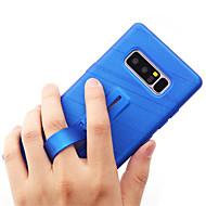 Недорогие Чехлы и кейсы для Galaxy Note-Кейс для Назначение SSamsung Galaxy Note 8 Кольца-держатели Кейс на заднюю панель Сияние и блеск Мягкий ТПУ для Note 8