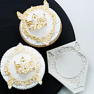 お買い得  キッチン用小物-ベークツール シリコーン ホリデー / 3Dカトゥーン / 創造的 ケーキ / チョコレート / 調理器具のための ケーキ型 1個