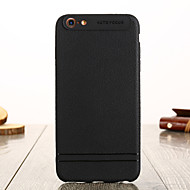 cheap -Case For Apple iPhone 5 Case IMD Back Cover Solid Colored Soft TPU for iPhone SE / 5s / iPhone 5