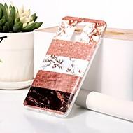 preiswerte Handyhüllen-Hülle Für Huawei Mate 9 Pro Muster / Glänzender Schein Rückseite Marmor Weich TPU für Mate 9 Pro