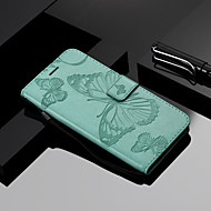 cheap -Case For Xiaomi Mi 7 / Mi 8 Wallet / Card Holder / with Stand Full Body Cases Butterfly Hard PU Leather for Xiaomi Redmi Note 5A / Xiaomi Redmi Note 4X / Xiaomi Redmi Note 3