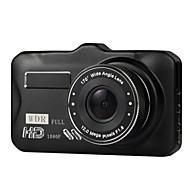 Недорогие Видеорегистраторы для авто-3-дюймовый автомобиль dvrtft lcd hd 1080p повернул 170 градусов ультра широкоугольный двойной объектив тире камеры автомобиль цифровой видеомагнитофон видеокамеры