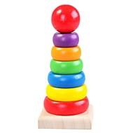 preiswerte Spielzeuge & Spiele-Holzpuzzle Turm Praktische Grip / Eltern-Kind-Interaktion Hölzern 8 pcs Vorschule Geschenk