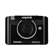 Недорогие Видеорегистраторы для авто-Anytek A22 1080p Ночное видение Автомобильный видеорегистратор 170° Широкий угол 3 дюймовый TFT Капюшон с GPS / Ночное видение / G-Sensor