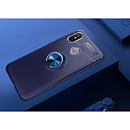 preiswerte Handyhüllen-Hülle Für Xiaomi Mi 8 mit Halterung / Ring - Haltevorrichtung / Ultra dünn Rückseite Solide Weich TPU für Xiaomi Mi 8