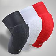 cheap -Knee Brace for Basketball / Bike / Running Men's Impact Resistant Sports Lycra Spandex 1 pc White / Black / Red