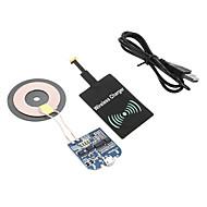 billiga Universella mobiltillbehör-Trådlös laddare USB-laddare USA-kontakt / EU-kontakt / UK-kontakt 1 USB-port 1 A DC 5V för / AU-kontakt
