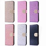preiswerte Handyhüllen-Hülle Für Huawei P20 Pro / P20 lite Kreditkartenfächer / Strass / mit Halterung Ganzkörper-Gehäuse Glänzender Schein Hart PU-Leder für