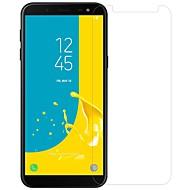 お買い得  Samsung 用スクリーンプロテクター-スクリーンプロテクター のために Samsung Galaxy J6 強化ガラス / PET 1枚 フロント&カメラレンズプロテクター ハイディフィニション(HD) / 硬度9H / 防爆