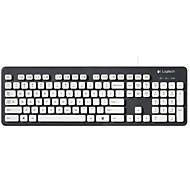 preiswerte Tastaturen-Factory OEM K310 Kabel Tastaturen 104 pcs Office Keyboard Verschüttungsresistent USB angetrieben angetrieben