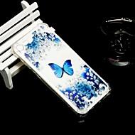 Недорогие Кейсы для iPhone 8 Plus-Кейс для Назначение Apple iPhone X / iPhone 8 / iPhone XS Защита от удара / Прозрачный / Полупрозрачный Кейс на заднюю панель Бабочка Мягкий ТПУ для iPhone XS / iPhone XR / iPhone XS Max
