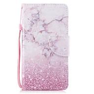 Недорогие Чехлы и кейсы для Galaxy A5(2017)-Кейс для Назначение SSamsung Galaxy A5(2017) Кошелек / Бумажник для карт / Флип Чехол Мрамор Твердый Кожа PU для A5 (2017)