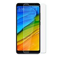お買い得  スクリーンプロテクター-スクリーンプロテクター のために XIAOMI Xiaomi Redmi注5 強化ガラス 1枚 スクリーンプロテクター 硬度9H / 傷防止