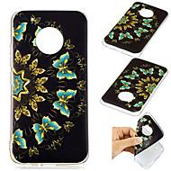 preiswerte Handyhüllen-Hülle Für Motorola G5 Plus Muster Rückseite Blume Weich TPU für Moto G5 plus