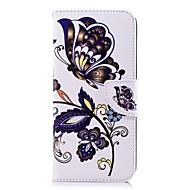 Недорогие Чехлы и кейсы для Galaxy S8 Plus-Кейс для Назначение SSamsung Galaxy S9 Plus / S8 Plus Кошелек / Бумажник для карт / со стендом Чехол Бабочка Твердый Кожа PU для S9 / S9 Plus / S8 Plus