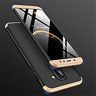 billige Etuier / covers til Galaxy A-modellerne-Etui Til Samsung Galaxy A6+ (2018) / A6 (2018) Syrematteret Bagcover Ensfarvet Hårdt PC for A6 (2018) / A6+ (2018) / A8 2018