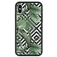 Недорогие Кейсы для iPhone 8-Кейс для Назначение Apple iPhone X / iPhone 8 Plus С узором Кейс на заднюю панель Растения / Геометрический рисунок / Мультипликация Твердый Акрил для iPhone X / iPhone 8 Pluss / iPhone 8
