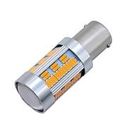Недорогие Внешние огни для авто-SO.K 2pcs BAU15S Автомобиль Лампы 10 W SMD 4014 1800 lm 105 Светодиодная лампа Внешние осветительные приборы For Универсальный Все года