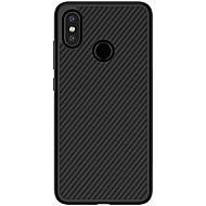 お買い得  携帯電話ケース-Nillkin ケース 用途 Xiaomi Mi 8 エンボス加工 バックカバー ライン/ウェイブ ハード カーボンファイバー のために Xiaomi Mi 8