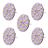 abordables Luces LED de Doble Pin-5pcs 2 W 250 lm G4 Luces LED de Doble Pin T 12 Cuentas LED SMD 2835 Nuevo diseño Blanco Cálido / Blanco Fresco 12-24 V