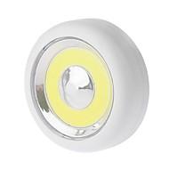 abordables Lámparas LED Novedosas-YWXLIGHT® Luz de noche LED Blanco Fresco Pilas AAA alimentadas Armario / Mueble de cocina / Libro de lectura
