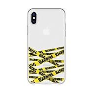 Недорогие Кейсы для iPhone 8 Plus-Кейс для Назначение Apple iPhone X / iPhone 8 Plus С узором Кейс на заднюю панель Полосы / волосы Мягкий ТПУ для iPhone X / iPhone 8 Pluss / iPhone 8