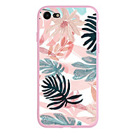 cheap -Case For Apple iPhone X / iPhone 8 Plus / iPhone 7 Pattern Back Cover Plants Soft TPU for iPhone X / iPhone 8 Plus / iPhone 8