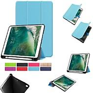 abordables Carcasas y Fundas para iPad-Funda Para Apple iPad (2018) / iPad (2017) con Soporte / Magnética Funda de Cuerpo Entero Un Color Dura TPU para iPad Air / iPad (2018) / iPad Pro 10.5