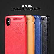Недорогие Кейсы для iPhone 8 Plus-Кейс для Назначение Apple iPhone X / iPhone 8 Ультратонкий Кейс на заднюю панель Однотонный Мягкий ТПУ для iPhone X / iPhone 8 Pluss / iPhone 8