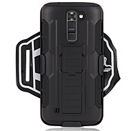 preiswerte Handyhüllen-Hülle Für LG G6 / G3 Sportarmband / Stoßresistent Armband Solide Hart PC für LG K7