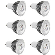 お買い得  LED スポットライト-6本 3 W 300 lm E14 / GU10 / GU5.3 LEDスポットライト 3 LEDビーズ ハイパワーLED 装飾用 温白色 / クールホワイト 85-265 V