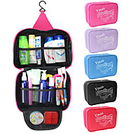 cheap Storage and Organization-Travel Bag / Cosmetic Bag / Travel Toiletry Bag Waterproof / Large Capacity / Moistureproof for Clothes Fabric 25*17*8.5 cm Solid Colored Travel