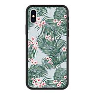 Недорогие Кейсы для iPhone 8 Plus-Кейс для Назначение Apple iPhone X / iPhone 8 Plus С узором Кейс на заднюю панель Растения / Цветы Твердый Акрил для iPhone X / iPhone 8 Pluss / iPhone 8