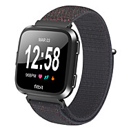 Недорогие Аксессуары для смарт-часов-Ремешок для часов для Fitbit Versa Fitbit Спортивный ремешок Нейлон Повязка на запястье
