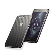 お買い得  携帯電話ケース-ケース 用途 OnePlus 5 / OnePlus 5T 耐衝撃 / メッキ仕上げ バックカバー ソリッド ハード アルミニウム のために OnePlus 6 / One Plus 5 / OnePlus 5T