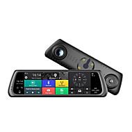 abordables DVR de Coche-Factory OEM K920 1080p HD / Visión nocturna DVR del coche 170 Grados Gran angular 12 MP 10.1 pulgada IPS Dash Cam con WIFI / GPS / Visión nocturna Registrador de coche