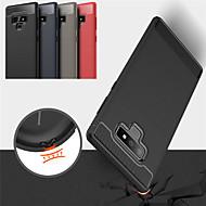 Недорогие Чехлы и кейсы для Galaxy Note 8-Кейс для Назначение SSamsung Galaxy Note 9 / Note 8 Матовое Чехол Однотонный Мягкий ТПУ для Note 9 / Note 8