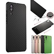 お買い得  携帯電話ケース-ケース 用途 Huawei P20 / P20 Pro 耐衝撃 / メッキ仕上げ バックカバー ソリッド ハード アルミニウム のために Huawei P20 / Huawei P20 Pro / Huawei P20 lite / P10 Plus / P10 Lite / P10